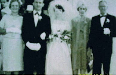 Coral, Donald & Barbara Thoroughgood, Coral's parents